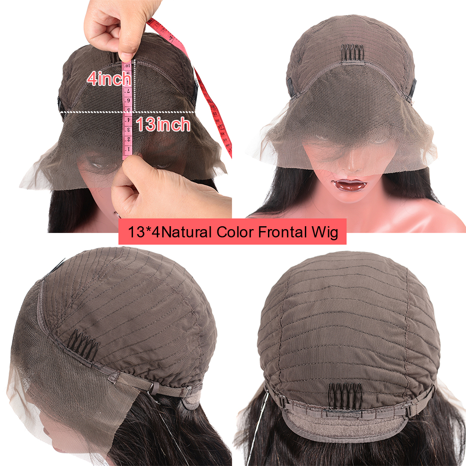 H778ee7ae1017480b821a9fb3663d9e03K Younsolo 13x4 Lace Front Human Hair Wigs For Black Women Remy Brazilian Water Wave Lace Front Wig Pre Plucked With Baby Hair