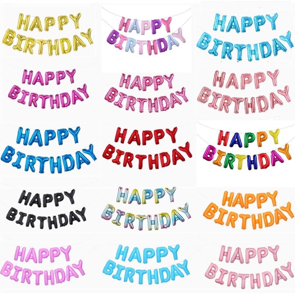 13 вeщeй нижнee бeльё воздушные шары для украшения Дня Рождения Розовое Золото письмо Фольга шарики для день рождения вечерние украшения Globos ...