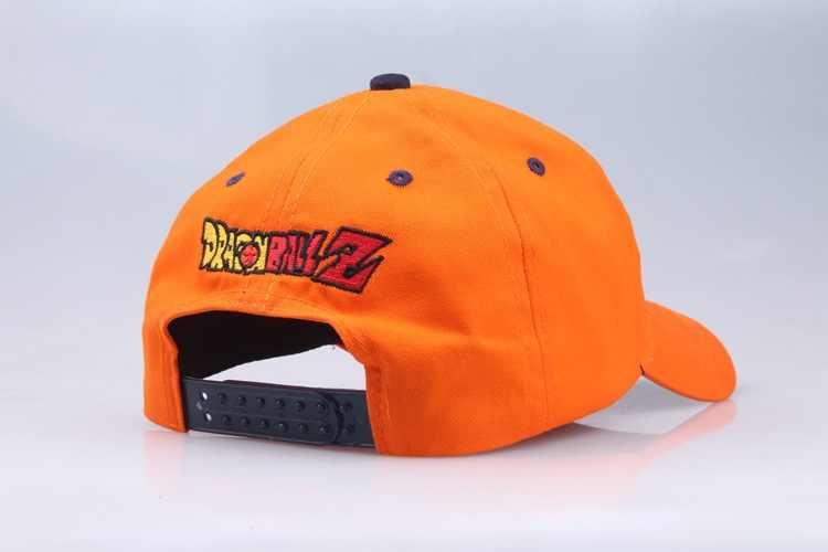 Yeni 2019 yüksek kaliteli pamuk dragon topu Z Goku beyzbol şapkaları erkekler kadınlar için Anime dragon ball ayarlanabilir HipHop Snapback kap