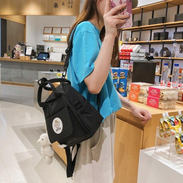 Feminino multifunction bags for women ins ferramentas na moda crossbody saco coreano japonês harajuku mochila pequena bolsa de ombro 2020 3