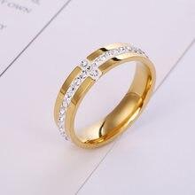 Anéis de casamento, joias de moda feminina com cz, 6mm, anéis cruzados para mulheres e homens, tamanho grande 10, 11, 12 anel de presente atacado