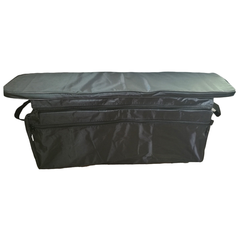 Canoe Inflatable Boat Seat Storage Bag With Padded Seat Cushion