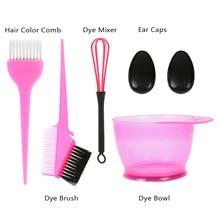 Hair Dye Color Brush Bowl Set