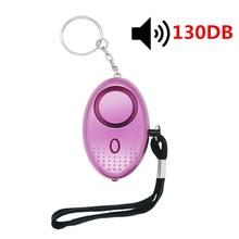 Personal Alarm With LED Light Alert Scream 130DB Self-Defense Safety Attack Emergency Alarms For Women Kids Elderly Self  Alarm