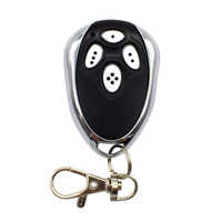 Alutech AT-4 AR-1-500 AN-Motors AT-4 ASG1000 remote control 433.92 MHz rolling code 4 channel garage door gate remote control