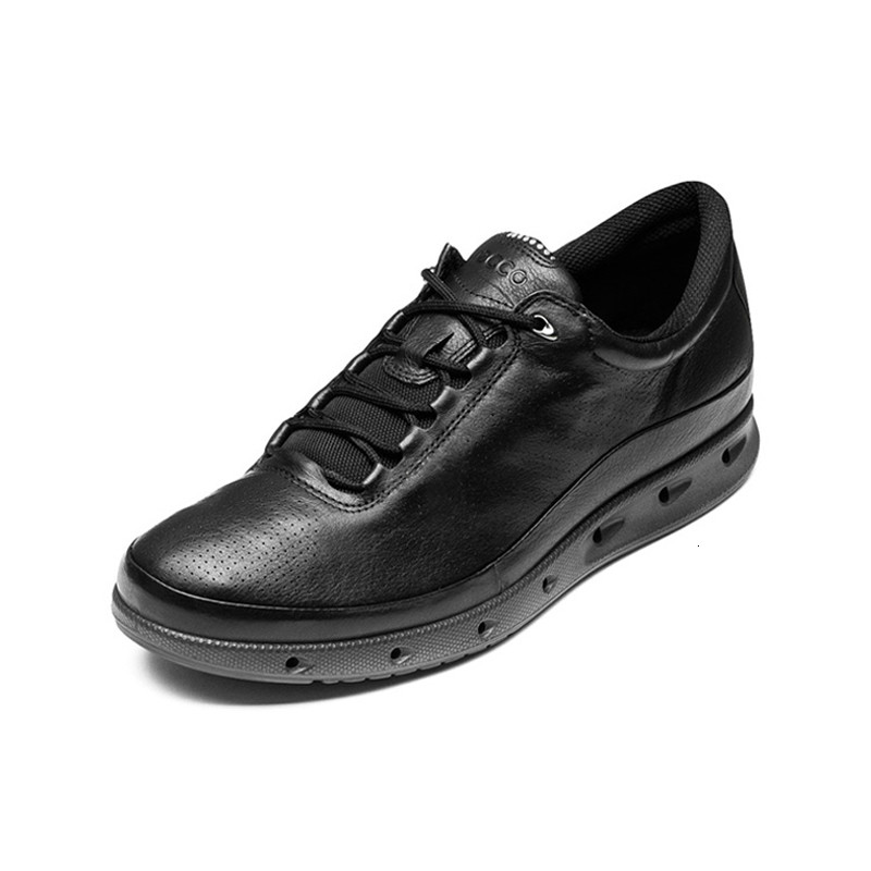 Ecco New Fashion Youth Men Oxygen Casual Shoes Breathable Comfortable Outdoor Low To Help Black Wild Leather Footwear 831304