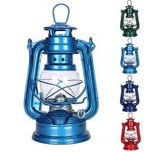 Портативная керосиновая лампа в стиле ретро для кемпинга, маслясветильник фонарь в средиземноморском стиле, сказочный декор, уличные инстр...