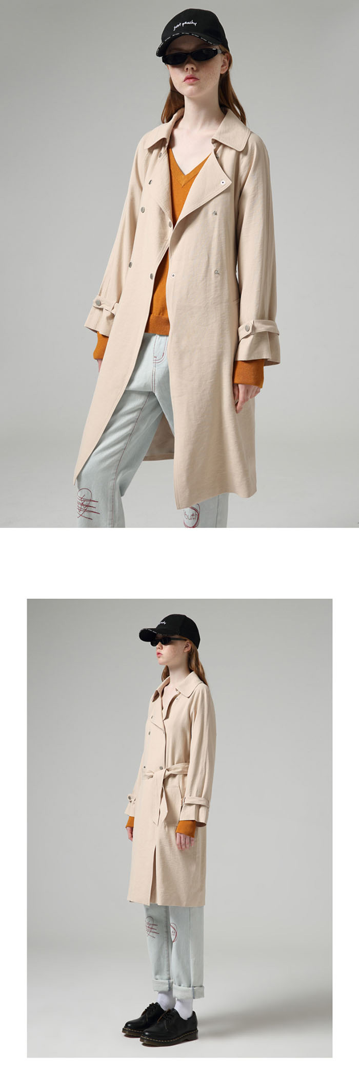 Toyouth Estilo Britânico Mulheres Blusão Sólida Moda