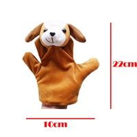 10pc cartoon dier fluwelen finger puppet finger speelgoed vinger pop baby doek onderwijs handgemaakte baby speelgoed baby gift bebe reborn 5