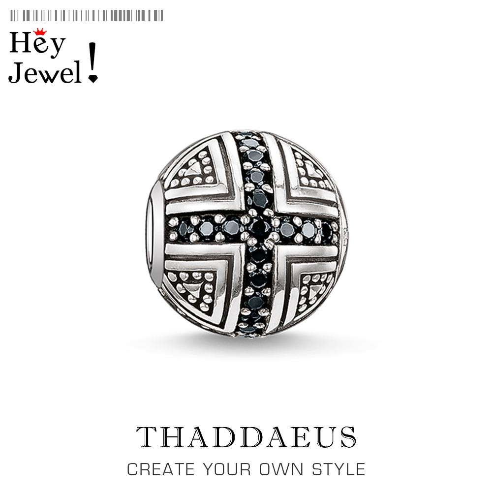 Bead Cross Hero,2020 New 925 Sterling Silver Beads Fits Bracelet Thomas Necklace Karma Charms European Faith Jewelry Accessories