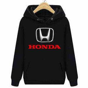Image 1 - הונדה לוגו מכוניות נים חולצות שחור חדש
