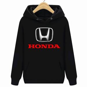 Image 1 - Honda Logo Autos Hoodies Sweatshirts Schwarz Neue