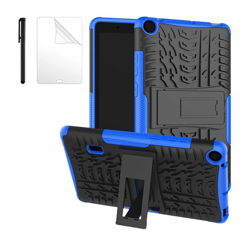 Чехол для планшета Huawei MediaPad T3 7, 7,0 дюйма, версия Wi-Fi, гибридный защитный чехол с подставкой, силиконовая подставка, чехол для телефона