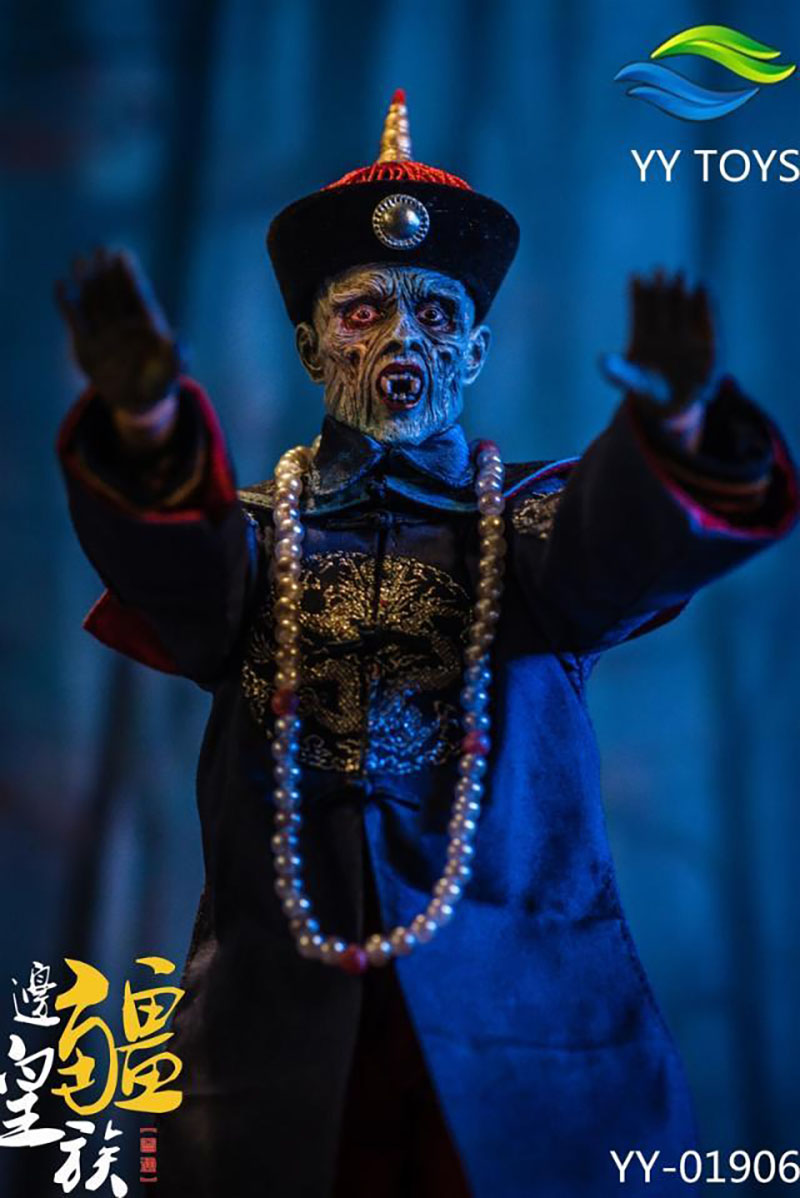 YY TOYS 1//6 Frontier Royalty Zombie Qing Dynasty Ancient Figure Model