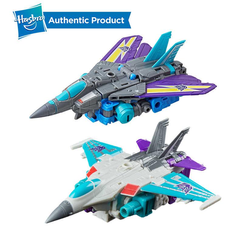Hasbro transformadores gerações potência dos primes luxo classe dreadwin blackwing autobot figura de ação modelo carro brinquedos