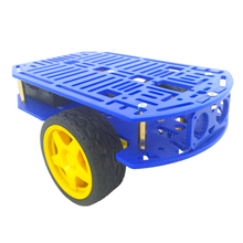3WD Platform Robot chassis Arduino Programmable DIY Educational Robot kit Second Develop Car(China)