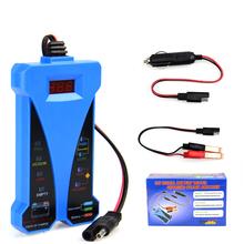 2020 dla Tester akumulatora samochodowego 12V cyfrowy Tester alternatora 6 wyświetlacz z podświetleniem LED narzędzie diagnostyczne do samochodów dla akumulatorów samochodowych Tester dla samochodów tanie tanio AUTOOLOBD CN (pochodzenie) Battery Tester 12V Digital Alternator Tester Latest version 12inch 5inch Plastic Testery akumulatora