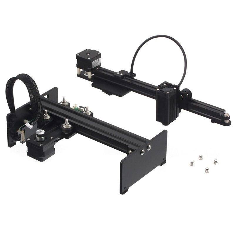 Master 3500Mw 405Nm Desktop Cnc Engraver Portable Diy Engraving Carving Machine Cutting Engraving Machine,Us Plug