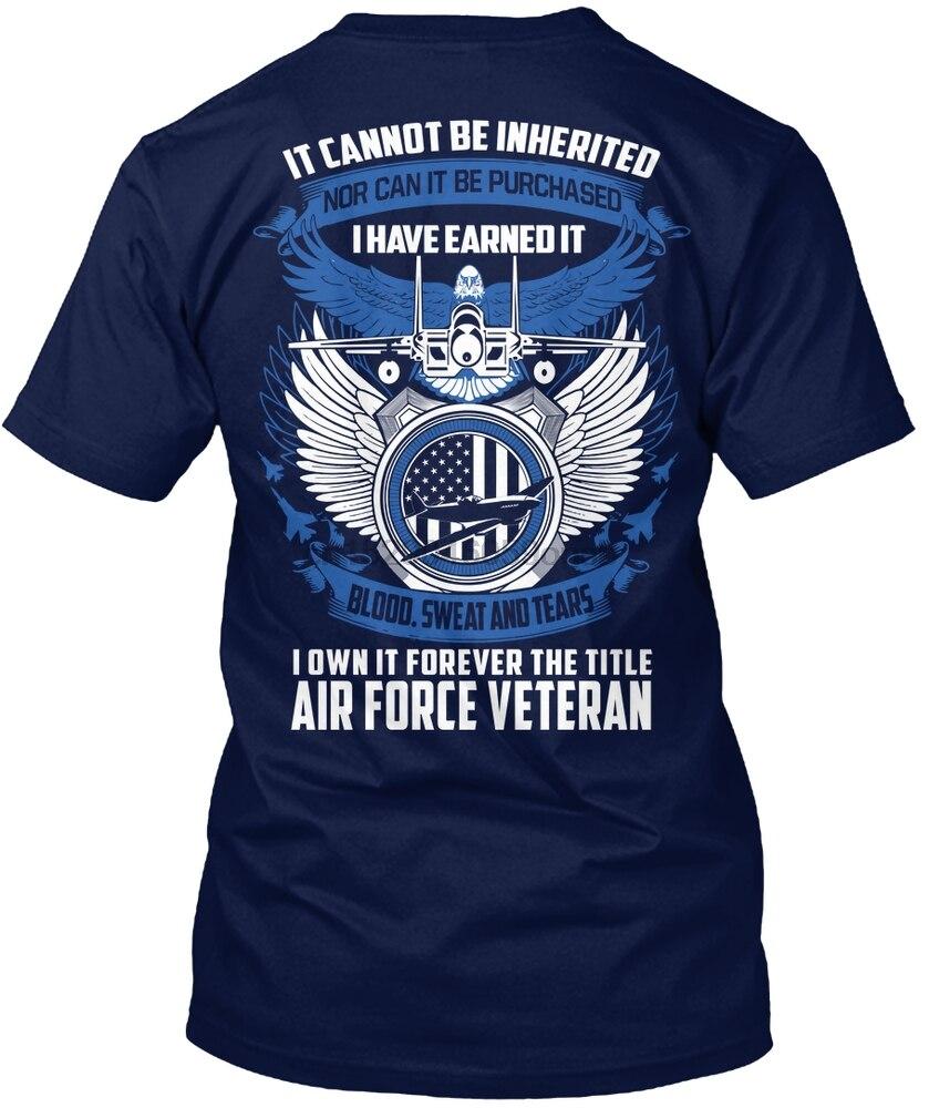 Men T Shirt [ OVER 1560+ SOLD ]-AIR FORCE VETERAN(1) Women tshirt