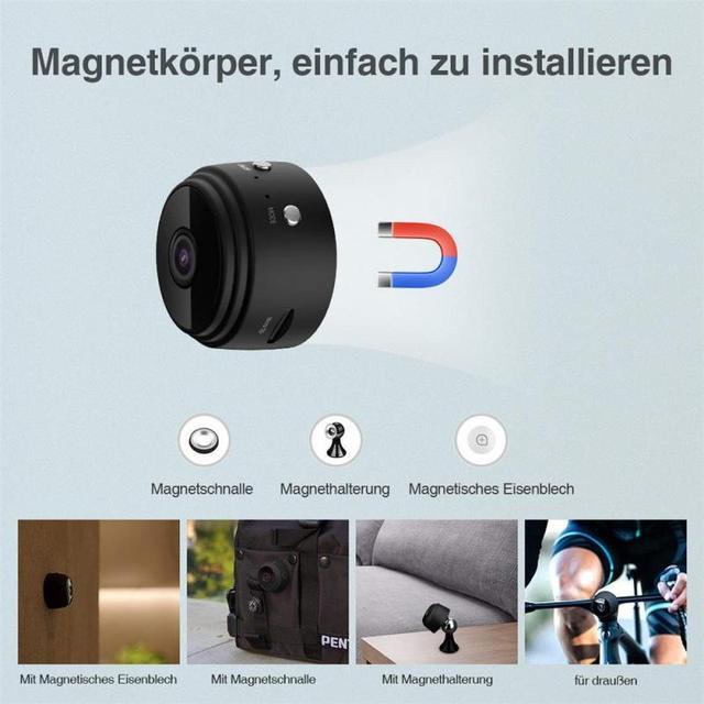 1080P HD IP Mini Camera Wireless Recorder Wifi Security Remote Control Surveillance Night Vision Motion Mobile Detection Camera 5