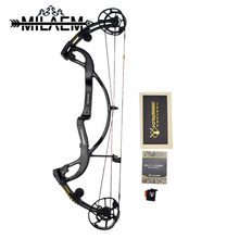 Adjustable 40-55 lbs To 50-65lbs Archery Hunting Compound Bow With Carbon Fiber Bow Handle Powerful Outdoor Hunting Bow цены