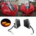 2 шт. зеркальный блок для мотоцикла  светодиодный индикатор для Ducati 959 / 1299 Panigale  все модели