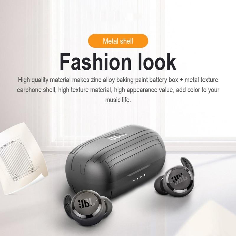 DATALAND Earphone IPX5 Waterproof Sport Wireless Bluetooth 5.0 Earbuds Portable Sports Headset Earplugs