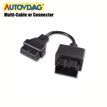 OBD2 Cable for Kia 20 Pin Connector For Benz For Mazda/Renault/BMW/ For GM For Tyota Cable Auto Diagnostic Multi-Connector xhorse hds cable for honda diagnostic cable auto obd2 hds cable