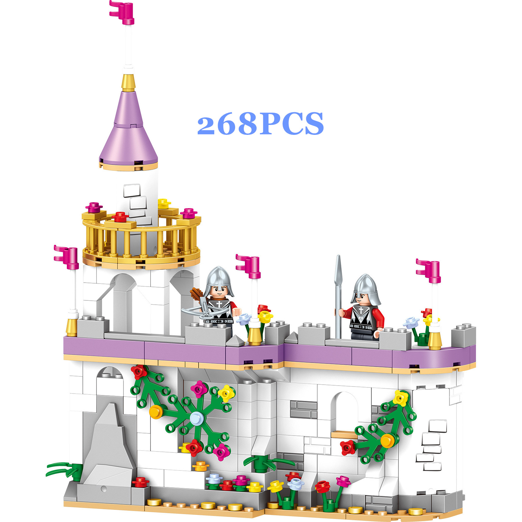 Image 5 - 731pcs Romantic Princess Castle Building Blocks Compatible With Legoed Girl Toys Gifts Kids Assembling Brick Friend Model Toys-in Blocks from Toys & Hobbies