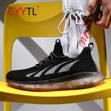 Cyytl модные кроссовки для мужчин повседневная обувь бега дышащая