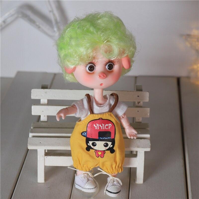 DBS Dream Fairy 1/12 BJD DODO doll 15cm doll toy ob11 mini doll with clothes shoes 14