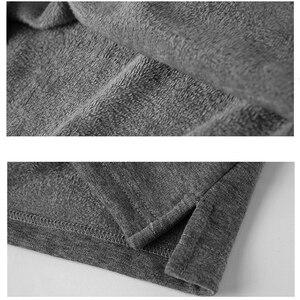 Image 5 - 겨울 가을 새로운 남성 폴로 셔츠 캐주얼 열 양털 남성 폴로 셔츠 두꺼운 따뜻한 5XL 긴 소매 폴로 셔츠 남성 의류 2020