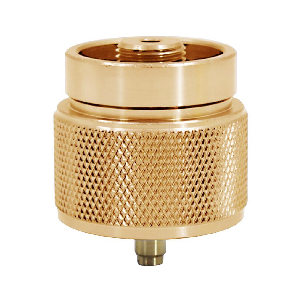 1 фунт малый бензин бак адаптер кемпинг пропан вход линдаль выход плита адаптер