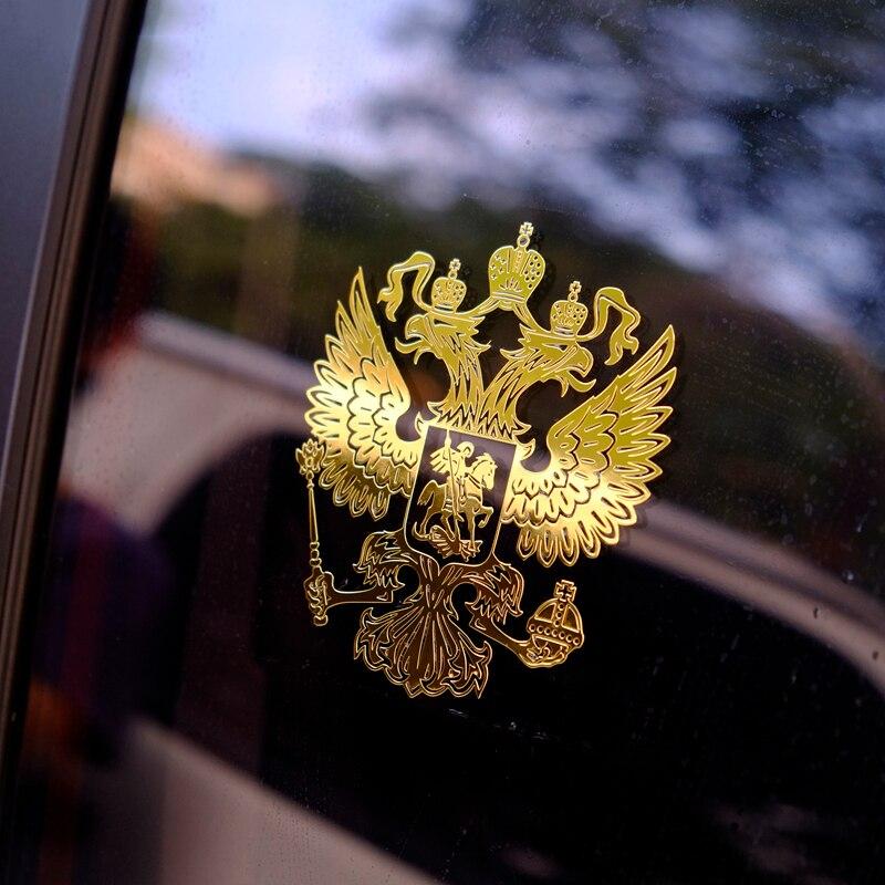 76.11руб. 12% СКИДКА|Универсальный автомобильный стикер герб России для hyundai Creta ix25 sonata lf Tucson 2016 2019|Дискодержатель| |  - AliExpress