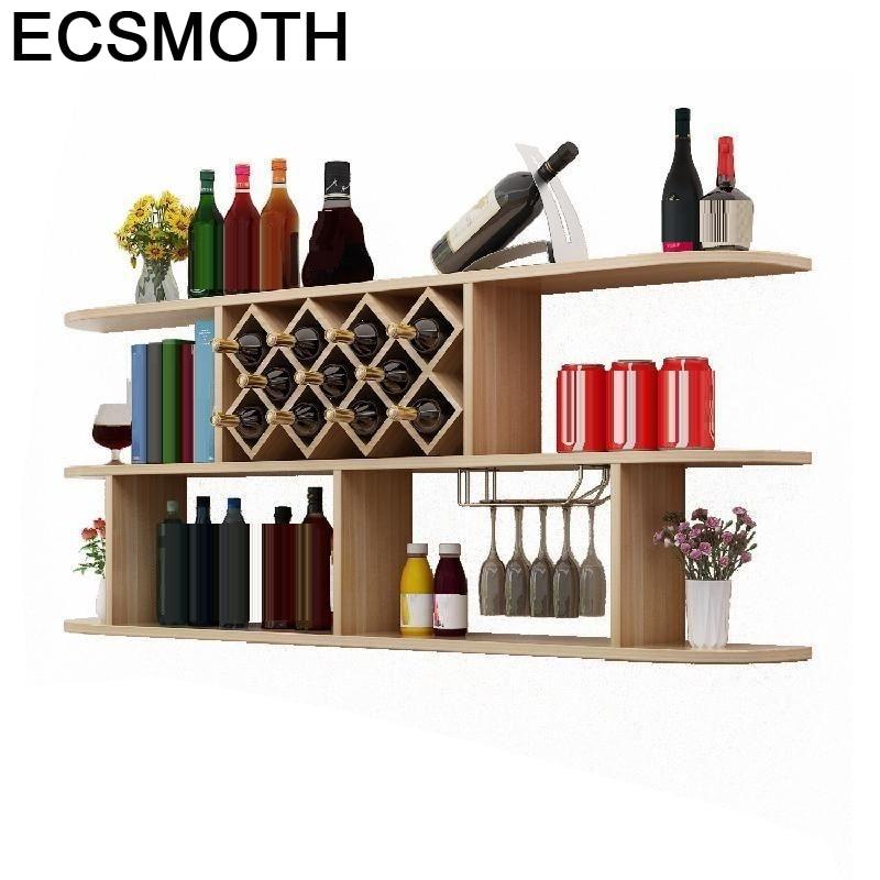 Rack Living Room Meja Meuble Meube Cocina Adega Vinho Vetrinetta Da Esposizione Desk Shelf Commercial Bar Furniture Wine Cabinet