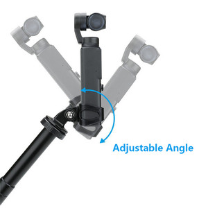 Image 5 - Multifunctional Extended Adapter Bracket Support Kits with 1/4 Threaded Hole for FIMI PALM Handheld Sport Camera Accessories