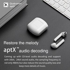Image 2 - EDIFIER TWS200 TWS écouteurs Qualcomm aptX écouteur sans fil Bluetooth 5.0 cVc double micro suppression de bruit jusquà 24h de lecture