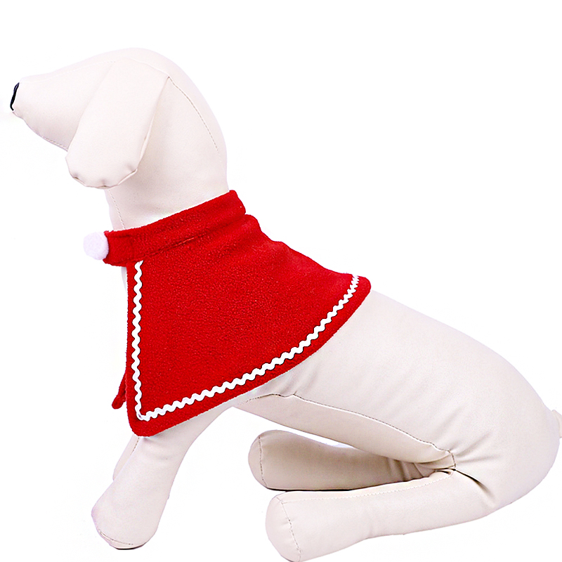 Pet Dog Cat Clothes Christmas Costume Cat Hat Scarf Cloak Dress Up For Kitten Puppy Small Dog Xmas New Year Costume Accessories 19