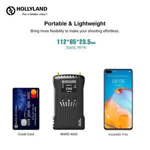 Image 4 - Hollyland 400s 400FT hdmi sdi 1080 1080p伝送カメラ映像無線hdビデオトランスミッタレシーバvs火星300 300ft