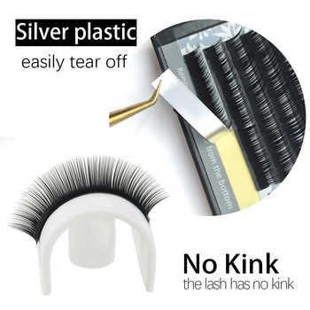 NAGARAKU Mink Lashes Makeup Maquiagem 27 Cases lot 7-15mm Mix Individual Eyelash High Quality Natural Soft Synthetic Mink