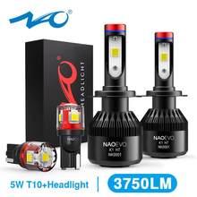 NAO H7 led Scheinwerfer H4 Led-lampe Auto H11 H9 H1 H3 HB4 HB3 9005 9006 H8 H27 9004 H13 881 880 72W 8000LM 12V licht Weiß 6000K