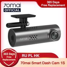 70mai inteligente traço cam 1s inglês controle de voz 70 mai câmera do carro 1080p 130fov wifi 70mai gravador de carro dvr gravador automático wifi
