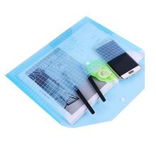 20 szt Materiały biurowe przezroczysty uchwyt na dokumenty naciśnij klamrę 18C uchwyt na dokumenty torba na dokumenty Folder A4 tanie tanio BIXTGS Z tworzywa sztucznego