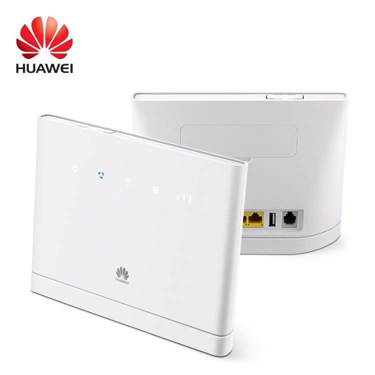 Used HUAWEI B315 B315S-22 LTE CPE 150Mbps 4G LTE FDD TDD Wireless Gateway Wifi Router With Sim Card Slot PK B310 B593 E5186