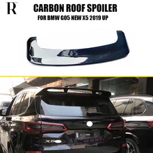 X5 Carbon Fiber Rear Roof Window Trunk Lip Wing Spoiler for BMW G05 New 2019 UP