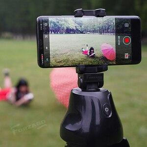 Image 5 - Apai Genie akıllı telefon Selfie çekim Gimbal 360 otomatik izleme telefon tutucu kamera için Selfie sopa Vlog kayıt Youtube canlı