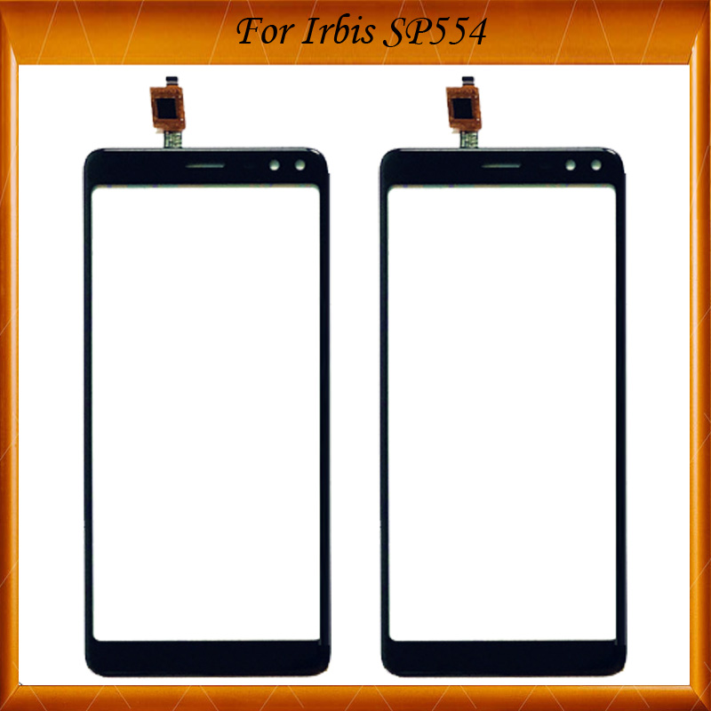 5.5 Inch For Irbis SP554 Touch Screen Glass Sensor Panel Lens Glass Digitizer 100% Working Well For Irbis SP 554 TouchScreen