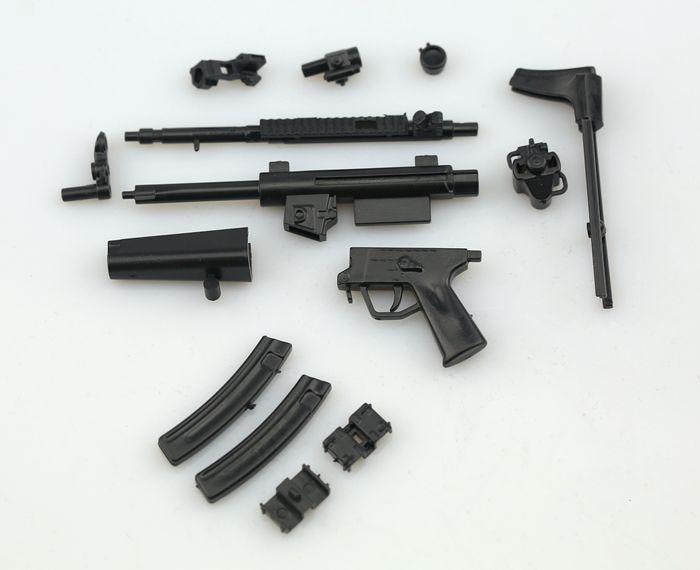 1//6 Scale HK MP5 Maschinenpistole Toy Gun Model Puzzles Brick For Action Figure