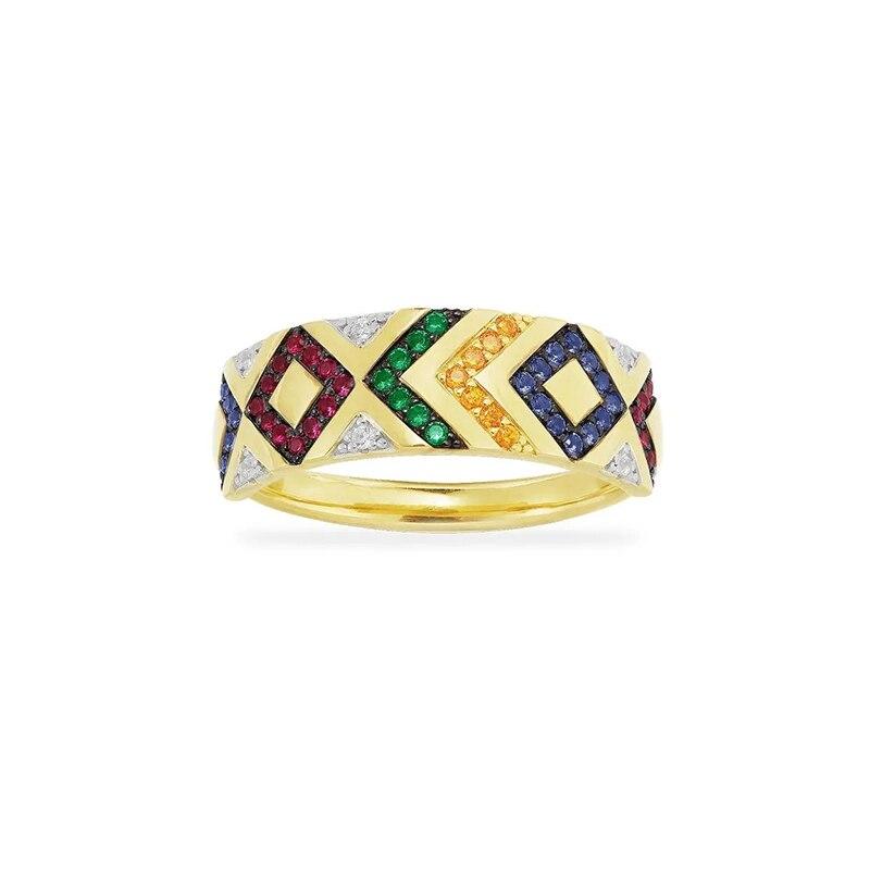 Купить модные марокканские ювелирные изделия новое цветное геометрическое