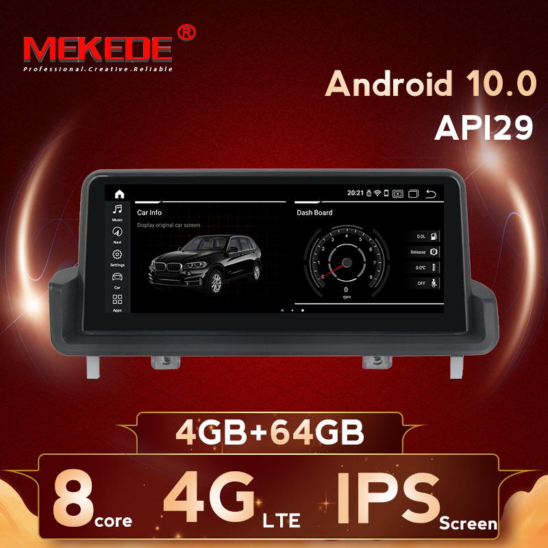MEKEDE IPS screen 8 core Car Stereo DVD For <font><b>BMW</b></font> 3 Series <font><b>E90</b></font> E91 E92 E93 <font><b>Android</b></font> 10.0 Wifi 4g GPS Bluetooth Radio image